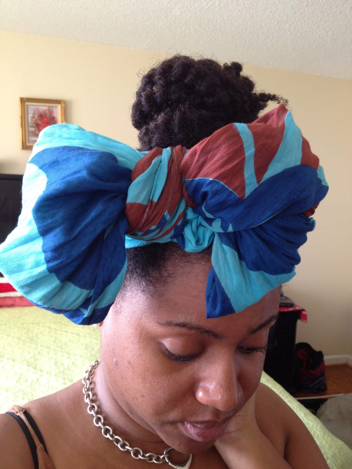 bow head wrap