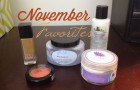 Beauty November Favorites