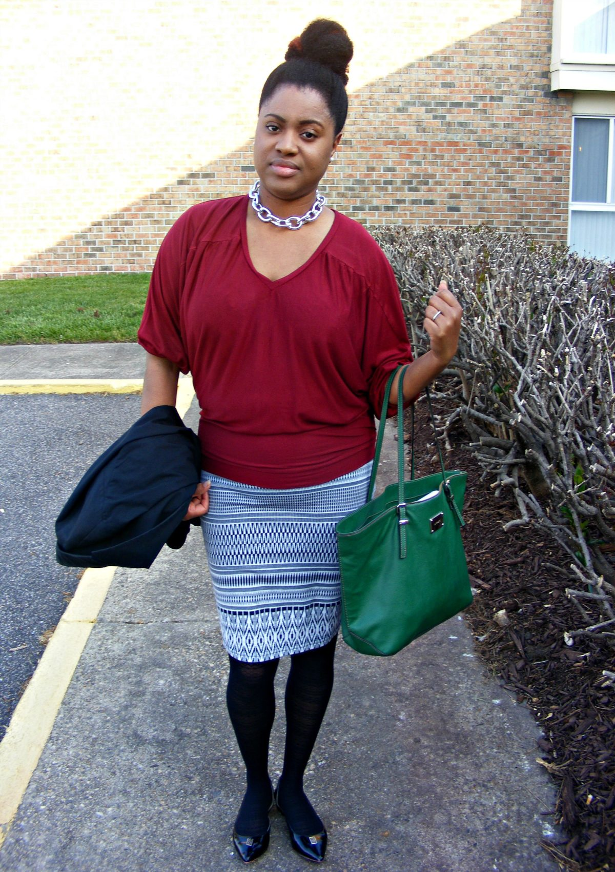OOTD featuring Gunmetal Link Chain | Sassy Jones Boutique