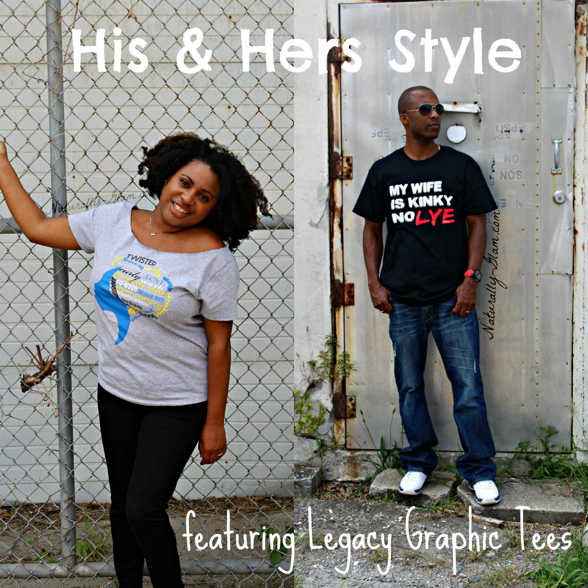 His & Hers Style | Legacy Graphic Tees