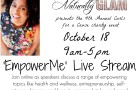 EmpowerMe Livestream Save the Date Curls for a Cause