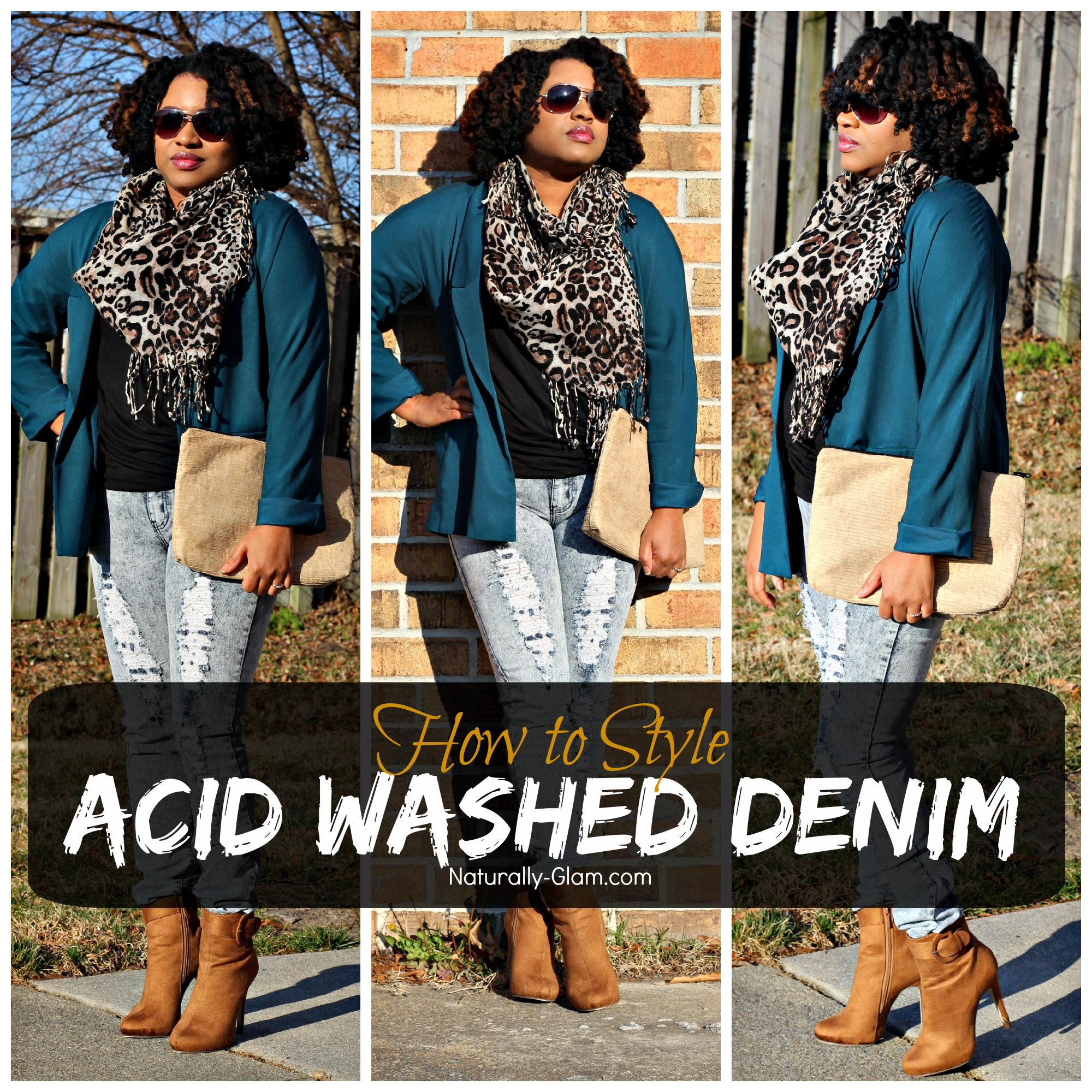 How to Style Acid Washed Denim