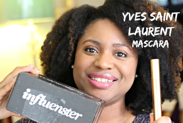 Influenster YSLVoxBox, false lash effect mascara