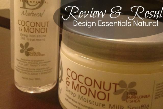 Design Essentials Coconut & Monoi Collection products