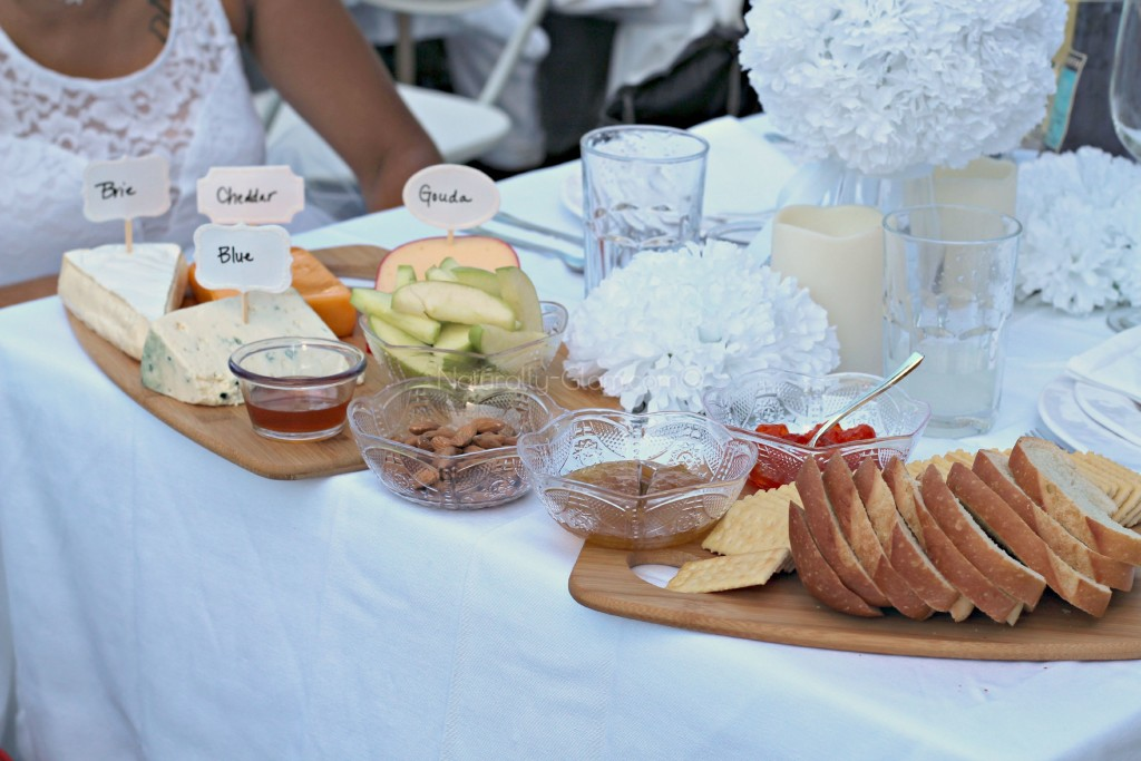 cheese board, fruit, bread, crackers, appetizers