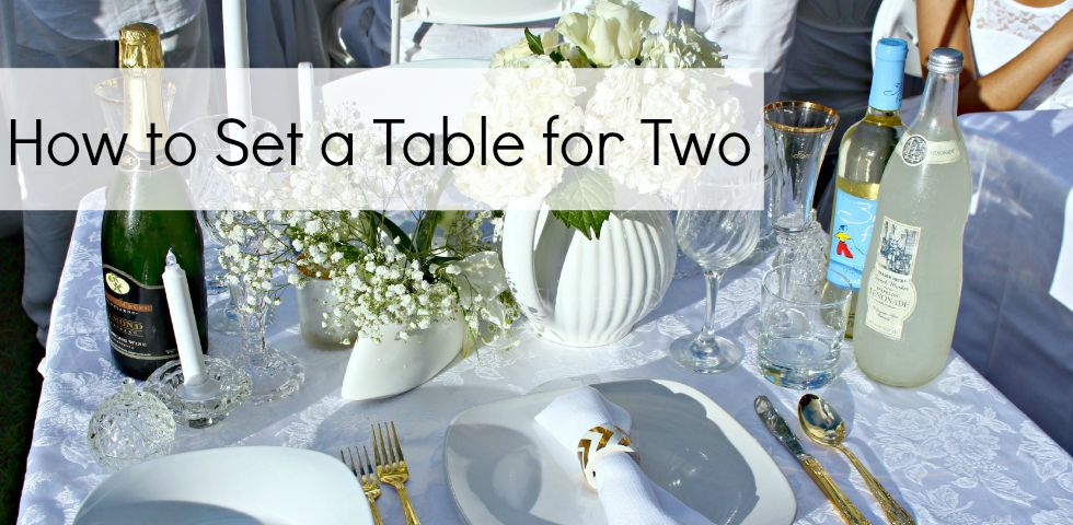 How to Set a Table for Two Slider