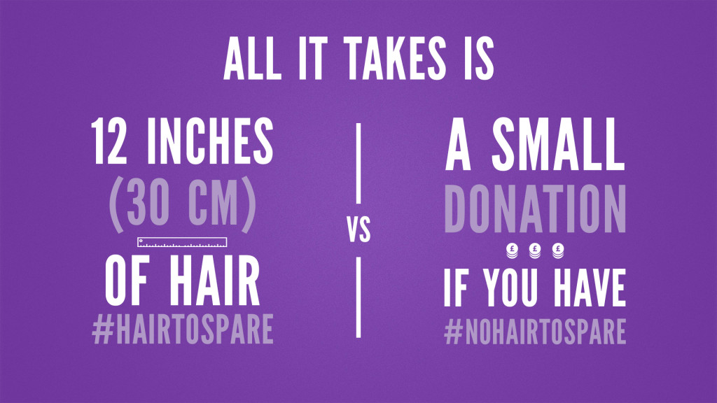 Hair to Spare campaign