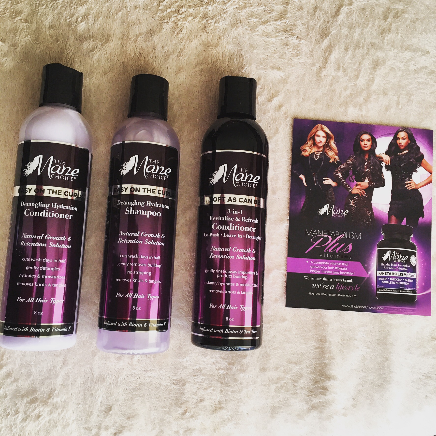 The Mane Choice Natural Hair Products | Review