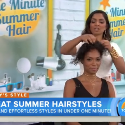 Today Show Segment Proves Why Naturals Do Their Own Hair