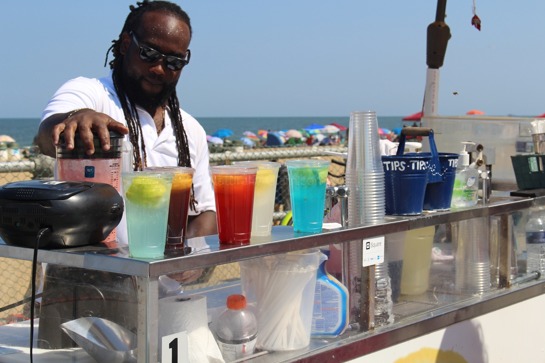 Africana Va Beach food vendors