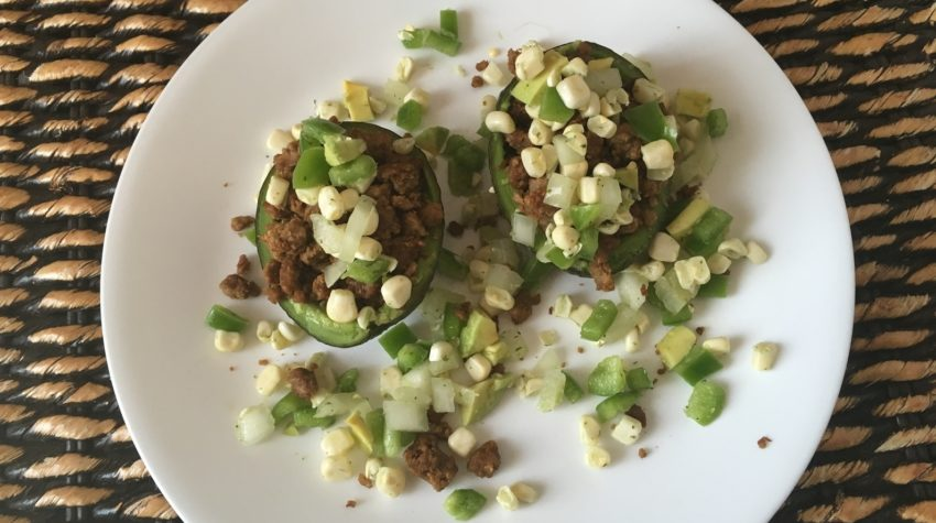 Vegan Feisty Avocado Bowls