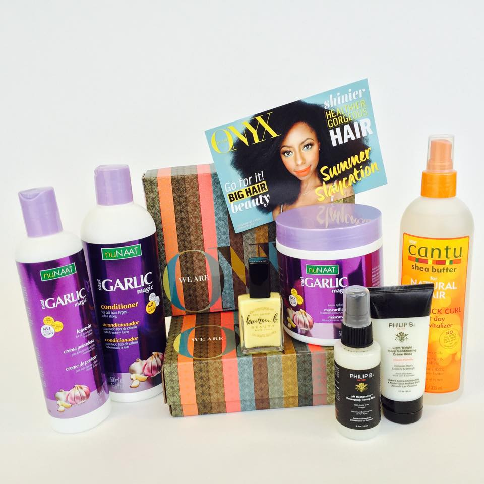 Beauty Subscription Boxes for Women of Color, We Are Onyx