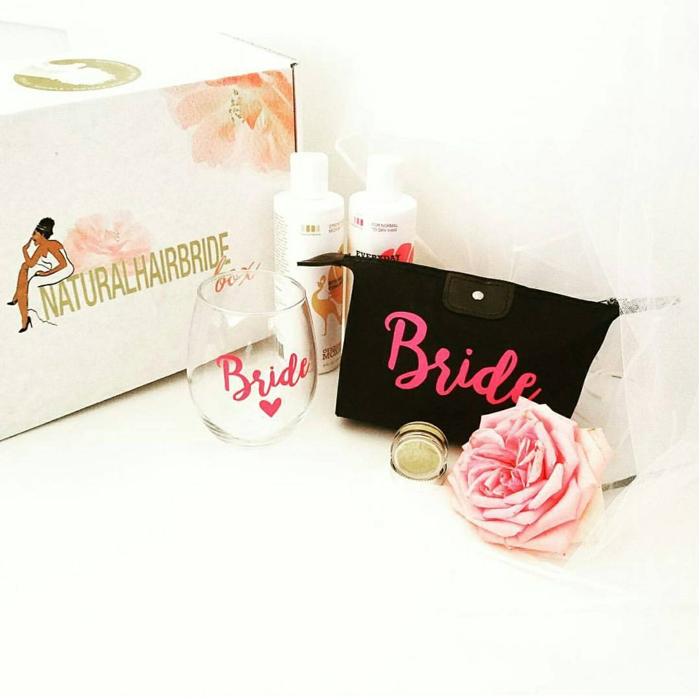 Beauty Subscription Boxes for Women of Color, Natural Hair Bride Box
