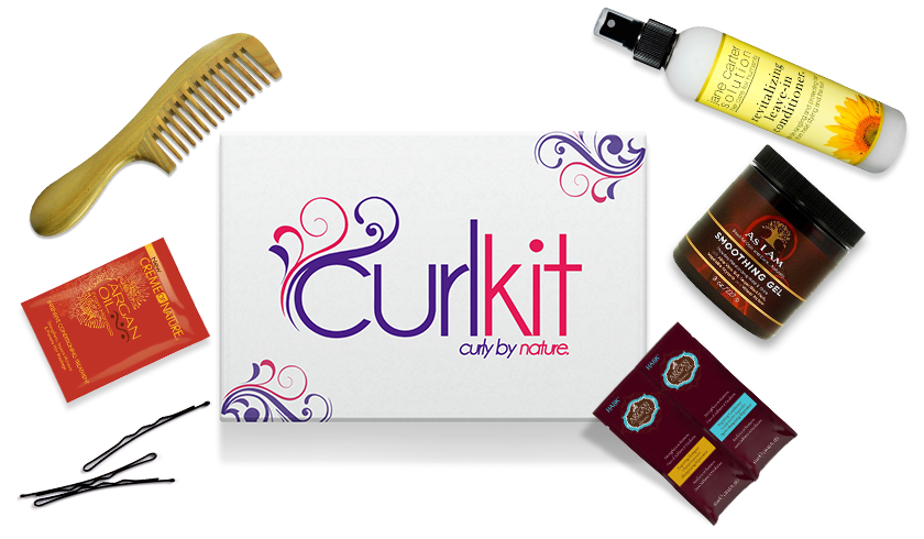 Beauty Subscription Boxes for Women of Color, Curlkit