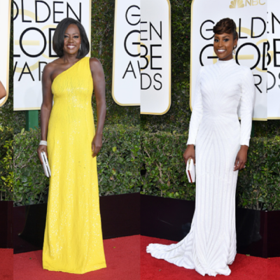 Black Hollywood Slays the Golden Globes Red Carpet
