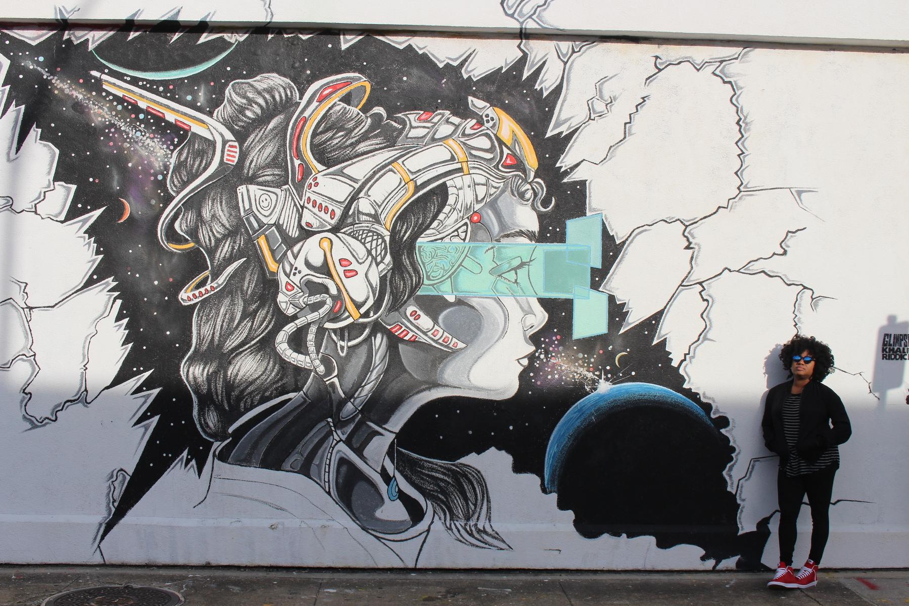 brand ambassador, mural