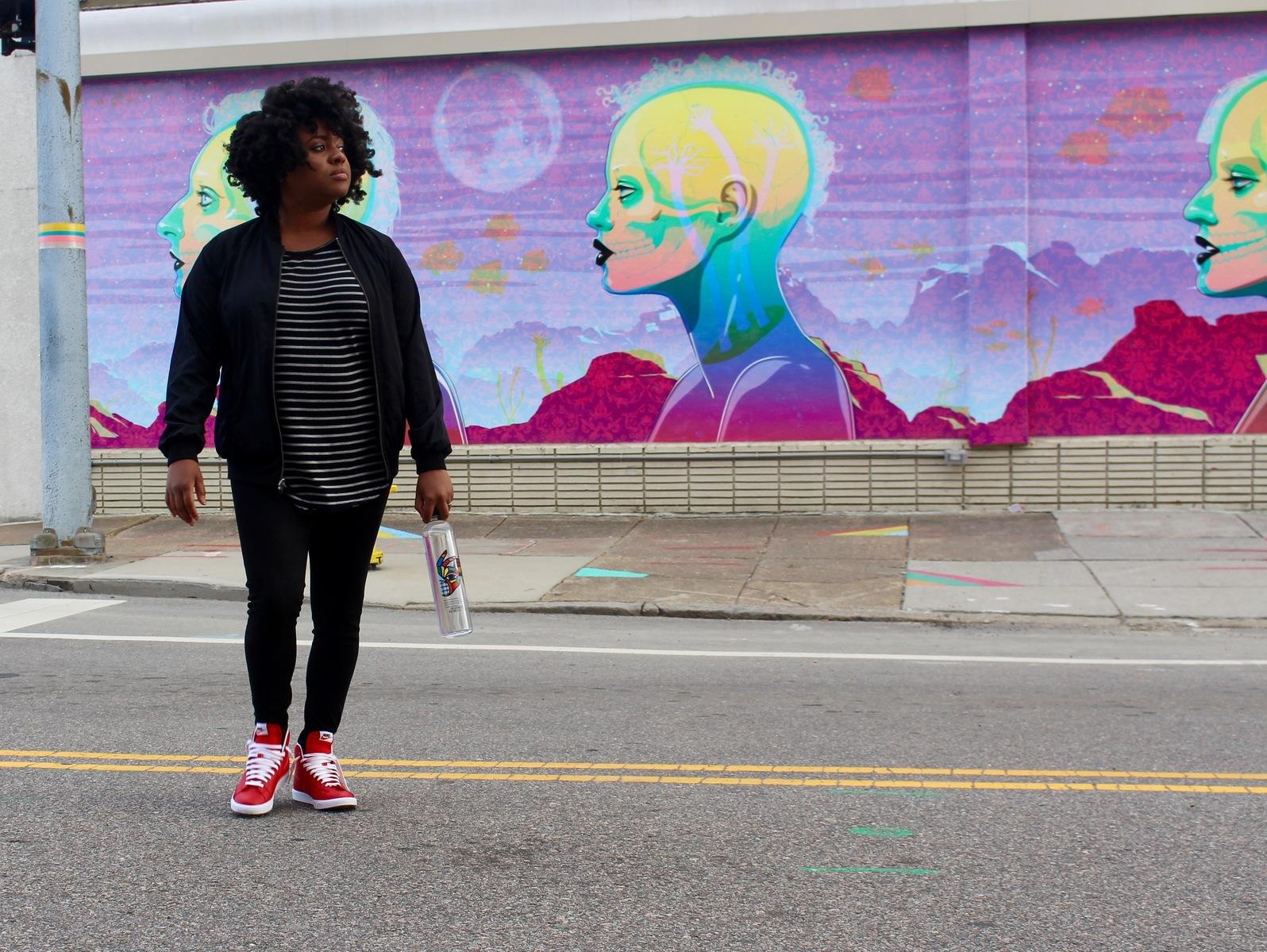 mural, street art, NEON district