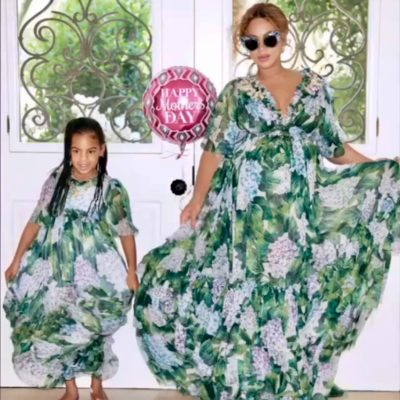 Beyonce's Floral Dolce & Gabbana Dress: Get the Look for Less
