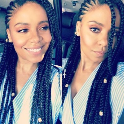 Sanaa Lathan Is Rocking Box Braids, And We Love It!