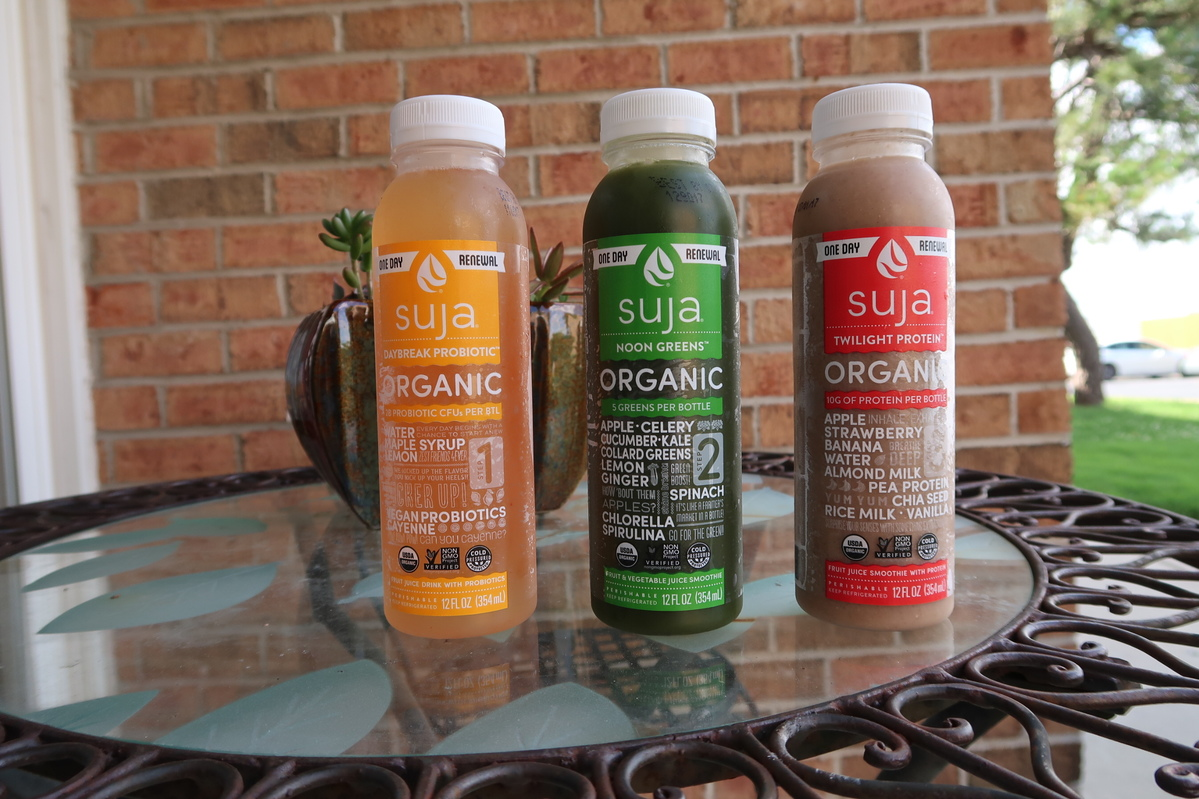Suja One Day Renewal Meal Plan, Cold Pressed Juices