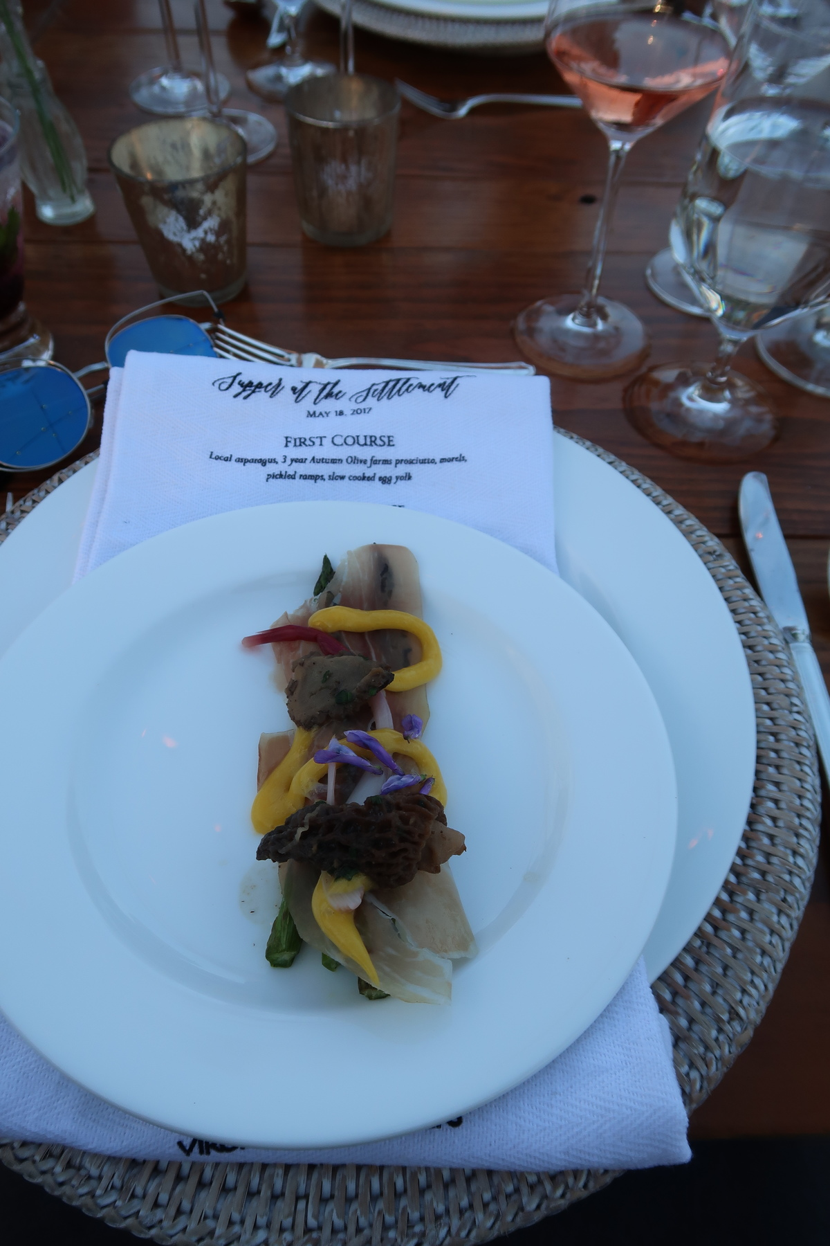 Virginia Tourism Supper at the Settlement