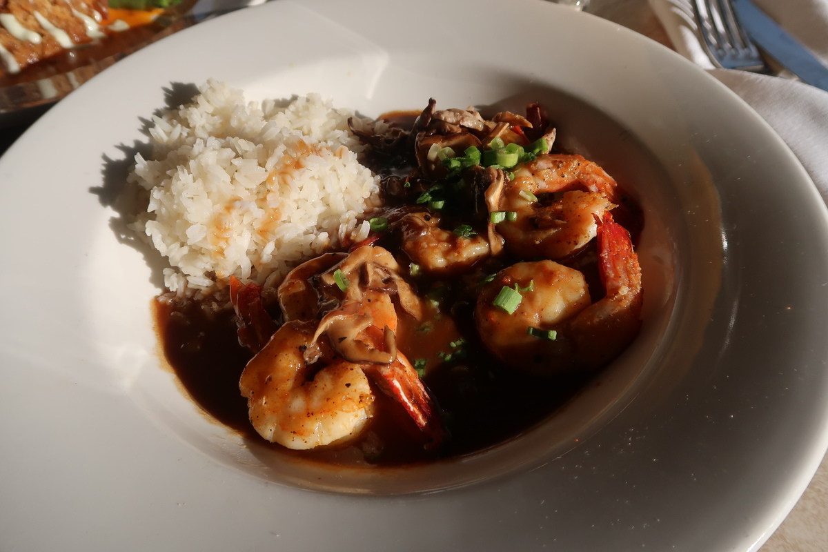 Palace Cafe New Orleans, shrimp