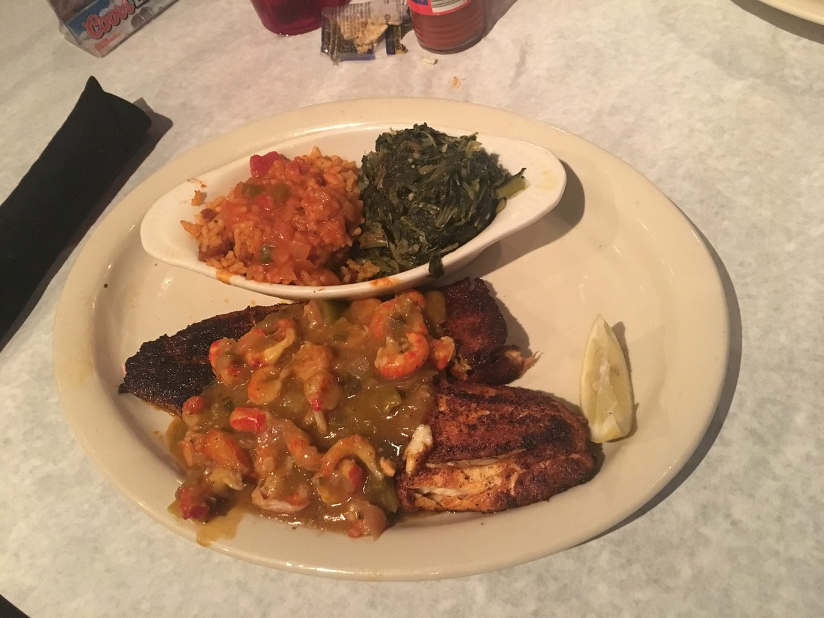 oceana grill, nola, new orleans restaurant, blackened red fish